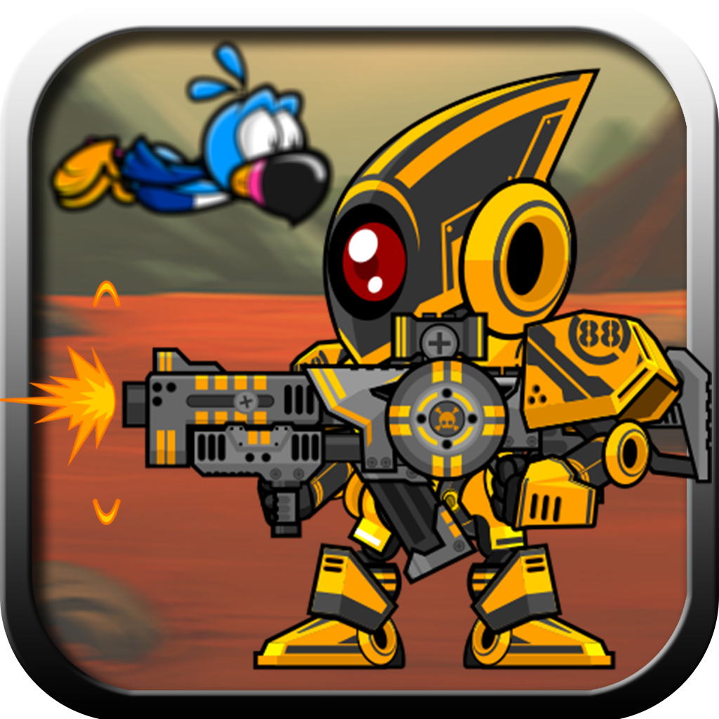 Cute Tiny Birds - Robot Wars Edition Free